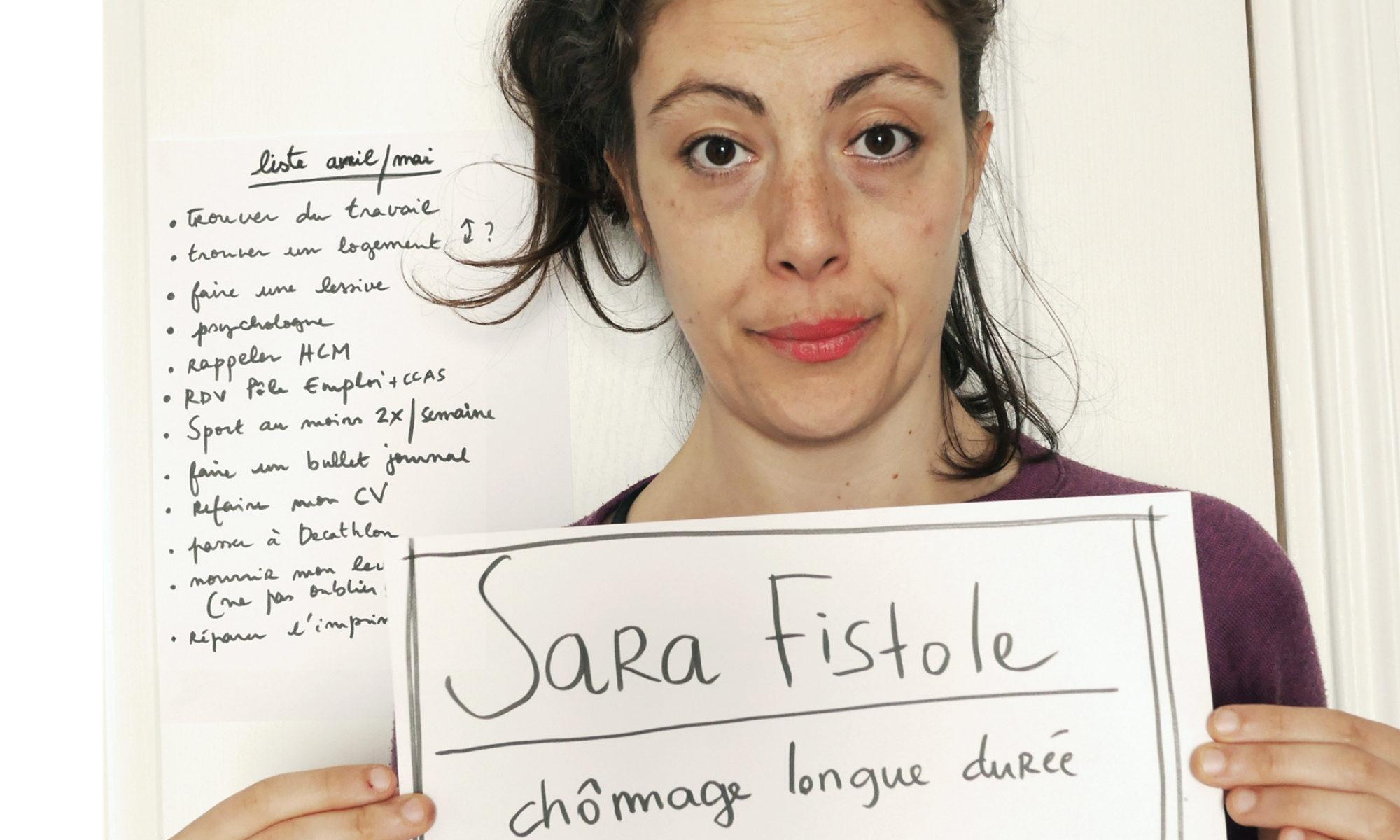 Les lettres de Sara Fistole